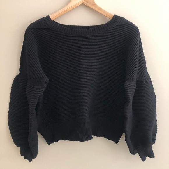 Luxurious Ribbed Crop Sweater